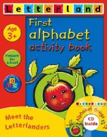 First Alphabet Activity Pack: Activity Book and Songs CD Pack (Letterland Activity Books)