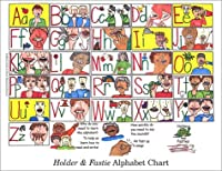 Holder and Fastie Alphabet Chart