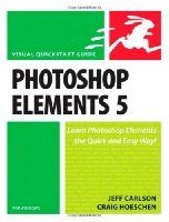 Photoshop Elements 5 for Windows: Visual QuickStart Guide (Visual QuickStart Guides)
