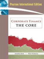 Corporate Finance: AND MyFinanceLab Student Access Kit: The Core