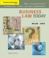 Business Law Today: The Essentials (Cengage Advantage Books)
