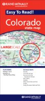 Rand McNally Easy to Read! Colorado State Map