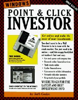 Point and Click Investor: A State-of-the-art Launch Kit into the World of Electronic Investing