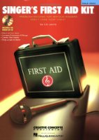 Singer's First Aid Kit - Male Voice: Book/CD Pak