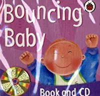 Bouncing Baby (Board Book & CD)