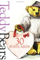 Teddy Bears Postcard Book