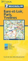 Eure-et-Loir/Paris/Yvelines 2003 (Michelin Local Maps)