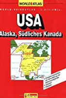United States of America, Southern Canada and Alaska (World Atlas)