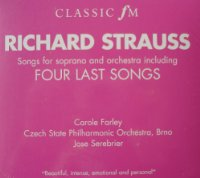 Richard Strauss: Songs for Soprano and Orchestra including Four Last Songs