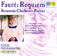 Aled Jones: Faure: Requiem Op48; Bernstein: Chichester Psalms No1-3