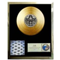 The Who 'Tommy' 24 Ct Gold Plated Replica Disc