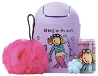 Groovy Chick Flip Top Tidy Set