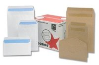 5 Star Office Envelopes Mediumweight Pocket Press Seal 90gsm Manilla C4 (Pack 250)