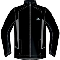 Adidas Supernova Windstopper Gore Active Shell Mens running jacket jogging wind windproof waterproof breathable outdoor snova sports training goretex Gore-Tex for men Black Size M 50