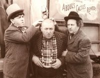 The Three Stooges Poster Print Card, 14x11