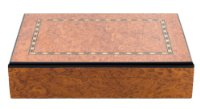 Luxury Wooden Cigar Box Case Humidor High Gloss Finish