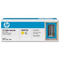 Hewlett Packard [HP] Q3972A Yellow 2k Toner Cartridge for HP LaserJet 2550 Ref Q3972A