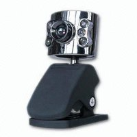 RICCODIGITAL 6 LED NIGHTVISION USB 2.0 LAPTOP/PC WEBCAM WITH BUILT-IN MICROPHONE - MSN AOL YAHOO MESSENGER SKYPE