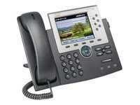 Cisco Unified IP Phone 7965G - VoIP phone - SCCP, SIP - silver, dark grey - with 1 x user licence