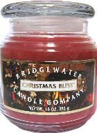 Christmas Bliss Jar Candle by Bridgewater
