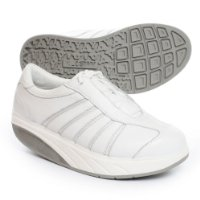 MBT Ice White Womens Trainers (+DVD) UK Size 3 (EU 35 2/3)