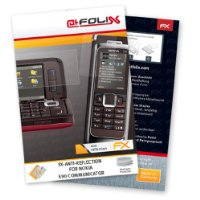atFoliX FX-Antireflex screen-protection film for Nokia E90 Communicator - Anti-reflective screen protection! Top quality