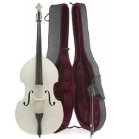 3/4 (Jazz) Size Double Bass in WHITE