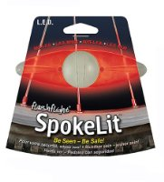 Nite Ize Spokelit LED Bike Light - Red