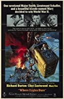 Where Eagles Dare 11x17 Inch (28 x 44 cm) Movie Poster