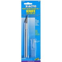 X-Acto No.2 Med-weight Precision Knife & Cap for Crafts, Models, Hobbies, Home and Garden and other activities - X3602
