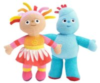 In The Night Garden Squashy Washy Bath Sponge Twin Pack  Igglepiggle & Upsy Daisy