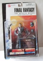 "Final Fantasy the spirits within Gray Edwards- 5.5"" inch figure"