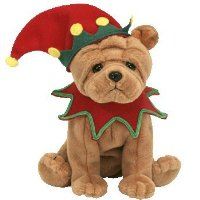 TY Elfis the Dog (Learning Express Exclusive) Beanie Baby