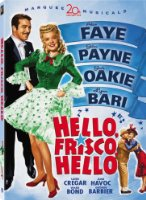 Hello Frisco Hello [DVD] [1943] [Region 1] [US Import] [NTSC]