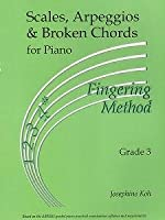 Josephine Koh: Scales, Arpeggios And Broken Chords For Piano - Fingering Method (Grade 3)