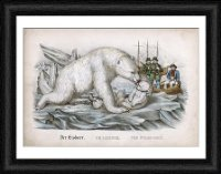 Framed Print of Polar Bear/cubs/dieren from Mary Evans