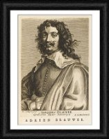 Framed Print of ADRIAN BRAUWER/BOULONOIS from Mary Evans