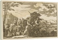 Box Canvas Print of ABRAHAM MIGRATES from Mary Evans