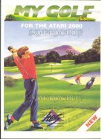 My golf - Atari 2600 - PAL