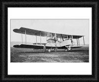Framed Print of Aeroplane in which Alock and Brown made the first non-stop transatlantic from Heritage-Images