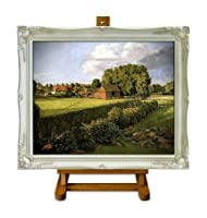 Golding Constable's Flower Garden - Constable Large Framed Art Print on Canvas