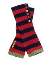Joules Womens Choca Toodle Fingerless Gloves