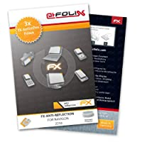 atFoliX FX-Antireflex screen-protector for Navigon 2210 (3 pack) - Anti-reflective screen protection!