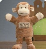 George Monkey Hand Puppet