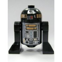 LEGO Star Wars: R2-Q5 Astromech Droid (Black) Minifigure