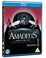 Amadeus - The Director's Cut [Blu-ray] [1984][Region Free]