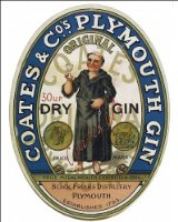 Photographic Print of COATES PLYMOUTH GIN from Mary Evans