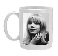 Photo Mugs of Marianne Faithfull Pop Singer from Mirror Photos