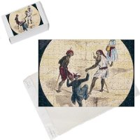 Photo Jigsaw Puzzle of Tourist Climbs Pyramid from Mary Evans