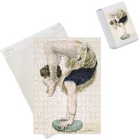 Photo Jigsaw Puzzle of Circus Acrobats/garnier from Mary Evans
